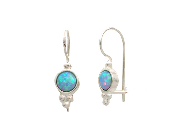 Mediterranean Blue Earrings-0
