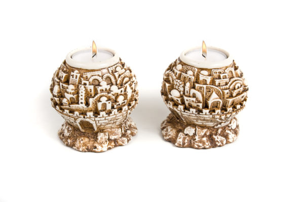 Holy City of Jerusalem Candlesticks-0