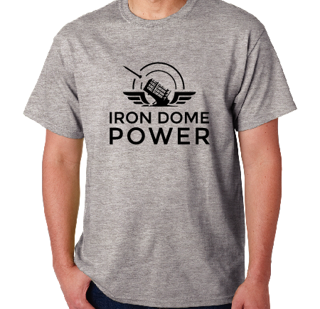 Iron Dome Power T-Shirt Grey