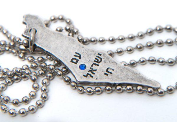 Sderot Rocket Necklace-1888