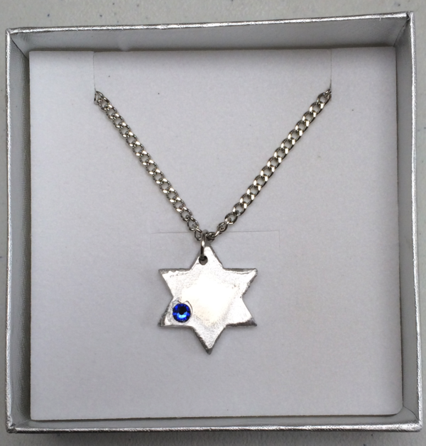 Iron Dome Star Necklace